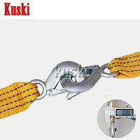 3 Tons 3 Meters Car Trailer Rope For Volkswagen VW Polo Passat B5 B6 CC Golf