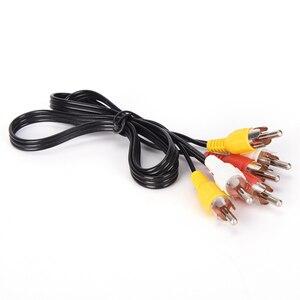 Image 3 - Tonbux 3 Way الصوت والفيديو AV RCA الخائن الأسود التبديل محدد صندوق الخائن مع/3 كابل RCA