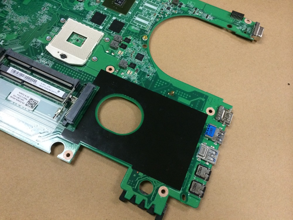 Free Shipping New 01040N For DELL Insprion 5720 Laptop motherboard DA0R09MB6H1 with Nvidia GPU ( Fit For DELL 7720 )