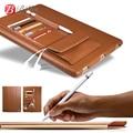 Para apple ipad pro cubierta de cuero de la pu funda protectora para ipad pro leather case soporte del sostenedor del montaje para el ipad 12.9 accesorios pulgadas