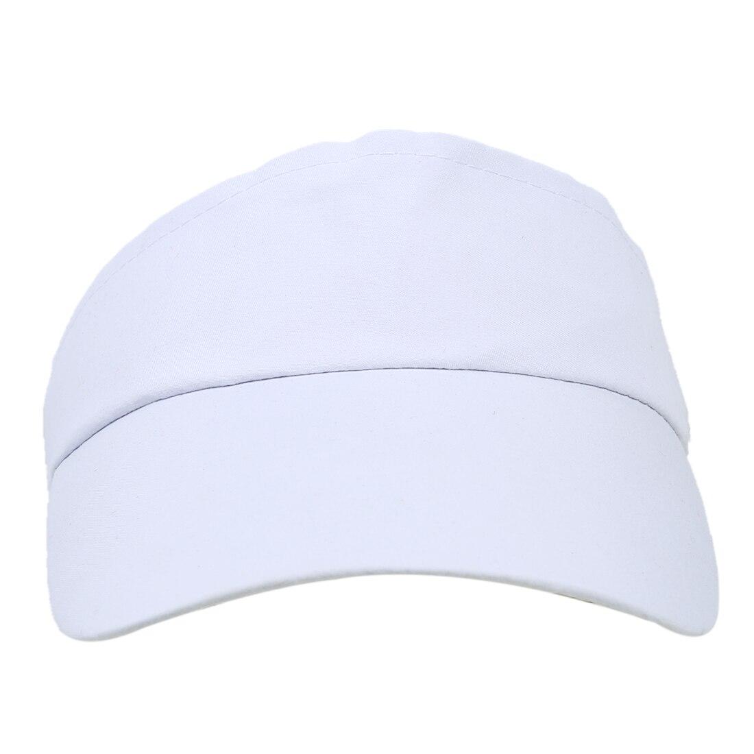 White Sun Sports Visor Hat Cap Tennis Golf Sweatband Headband UV  Protection-in Sun Hats from Apparel Accessories on Aliexpress.com  b27c625df90f