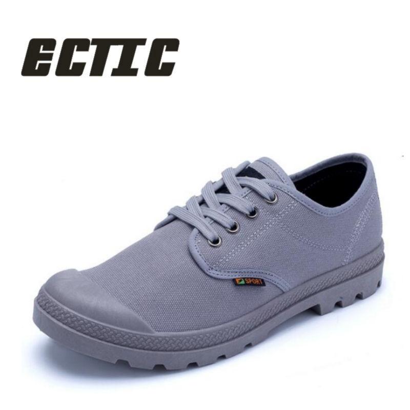 ECTIC 2018 Новий чоловік бавовна взуття - Чоловіче взуття