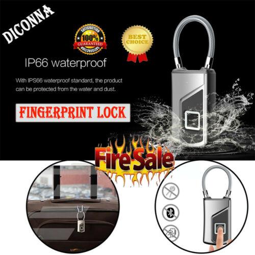 Mini Smart Fingerprint USB Rechargeable Backpack Suitcase Smart Lock Anti TheftMini Smart Fingerprint USB Rechargeable Backpack Suitcase Smart Lock Anti Theft