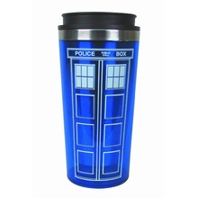 Doctor Who Tardis Coffee/Tea Thermos Cup With Lid