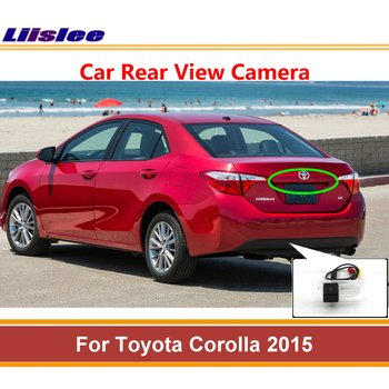 цена на Auto Rear Back View Reversing Camera For Toyota Corolla 2015 Car Reverse Rearview Parking Camera AUTO HD SONY CCD III CAM