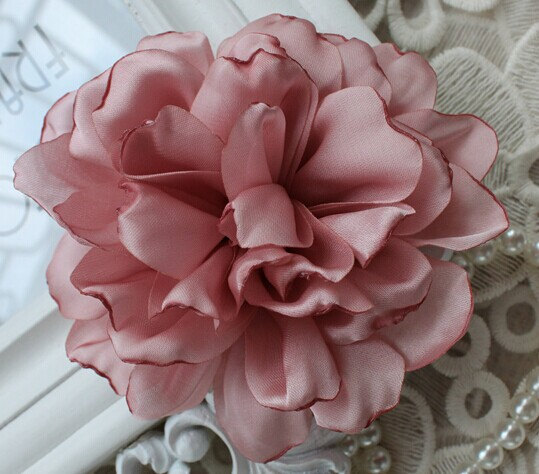 Pink chiffon flower rose soft chiffon fabric flowers bridal wedding pink chiffon flower rose soft chiffon fabric flowers bridal wedding garter baby hair in lace from home garden on aliexpress alibaba group mightylinksfo Images