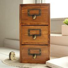 Три ящика деревянный ящик сделать старые Экологичные ящики для хранения всякой всячины Организация дома