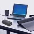 Banco de la energía 2x18650 Batería caja de la Caja/DIY Led de Capacidad de Voltaje Actual de la Pantalla Powerbank Cargador para el Teléfono Móvil