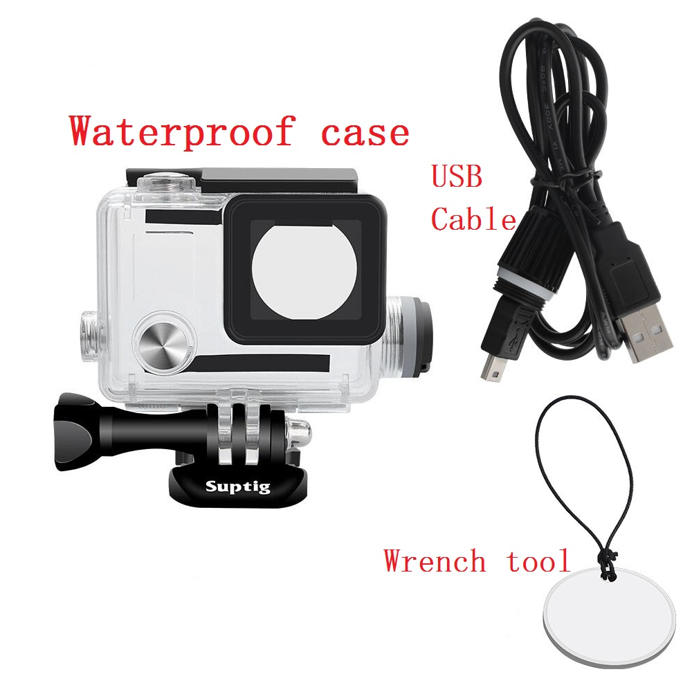 Image 4 - New For GoPro Hero 4 3+ Action Camera 5200mAh Waterproof Power Bank Battery Charger Waterproof case Gopro 4 Charging Shell / Box-in Sports Camcorder Cases from Consumer Electronics