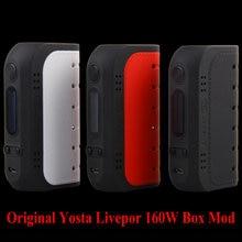 Original Yosta No18650 Livepor 160 W Caja Mod cigarrillo electrónico batería 160 W Max Potencia VW/TC Livepor caja vape mod función de PTC