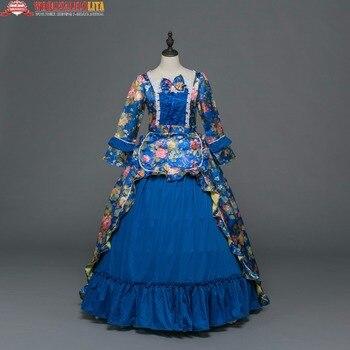 9b2155631 Nuevo Día Marie Antonieta ropa renacimiento vintage partido Vestidos  victoriano rococó vestido de baile inspirado elegante trajes