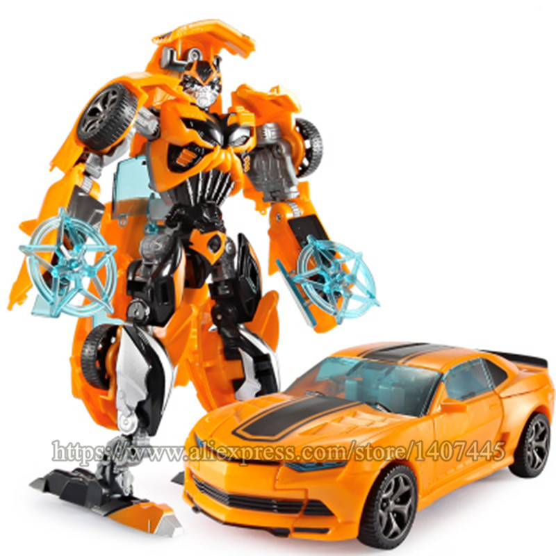 Robot Car Transformation Toys Boys Kids Anime Plastic ABS Action ...
