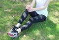 2016 Сексуальные Черные Брюки Леди Сетки Поножи Sexy Тонкий Jeggings Новый Дизайн Девушки Капри Женские Брюки Pantalones Femme