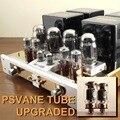 YAQIN MC-100B (MC100B) GB x4 KT88 Tubo de Vácuo Hi-end Integrado Amplificador De Potência de 110 v-240 v com 6SN7 12ax7 pré-amp