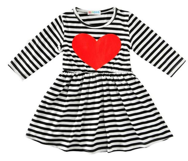Kids girls dresses for 1-5yrs baby toddlers girls spring autumn long sleeve princess  party 17828e68cbbc