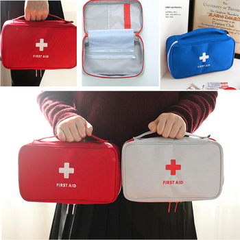 Portable Camping First Aid Kit Emergency Bag Waterproof Car kits bag Outdoor Travel Survival kit Empty bag Household survival red waterproof 2l first aid bag emergency kits empty travel dry bag rafting camping kayaking portable medical bag