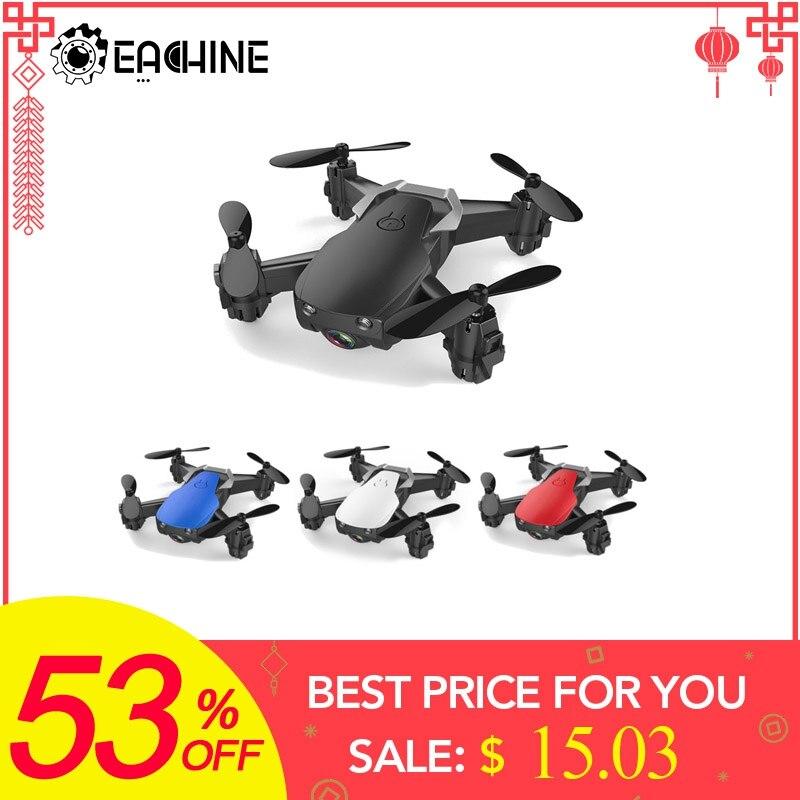 Eachine E61/E61hw Mini Drone con/sin cámara HD de alta Hold modo RC Quadcopter RTF WiFi FPV plegable RC Drone