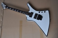 free shipping Top quality factory sale jackson guitar ,Jackson KE2 Kelly white electric guitar 1312 21