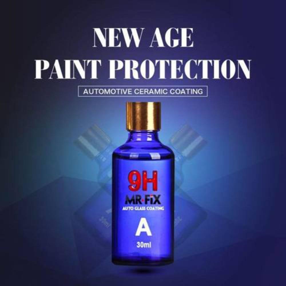 Hot Sale 30ML 9H Car hardness super hydrophobic Glass Coating Car Liquid ceramic Coat Auto Paint Care Durability Anti-corrosion