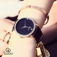 2019 Popular Watches Women Luxury Brand Rhinestone Star Sky Watch Lady Quartz Female Clock Girl Holiday Gift zegarek damski