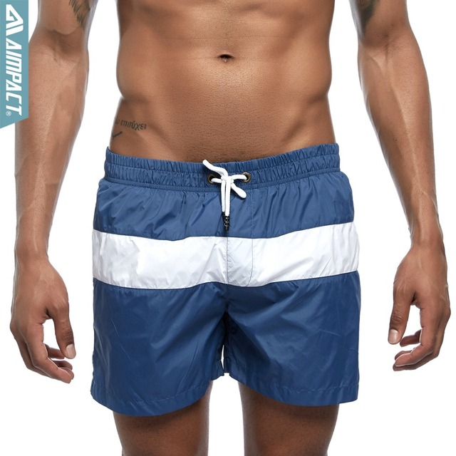 50107c85cfa Aimpact Men's Board Shorts Patchwork Quick Dry Summer Beach Surf Swimming  Trunks Male Sport Athletic Running Gym Shorts E307