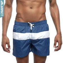 Aimpact Men's Board Shorts Patchwork Quick Dry Summer Beach Surf Swimming Trunks Male Sport Athletic Running Gym Shorts E307