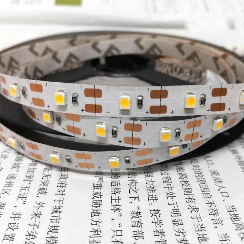 USB LED Strip 5 V IP65 Tahan Air Lampu SMD3528 50 CM 1 M 2 M 3 M 4 M 5 M RGB Hijau Merah Biru Natal Fleksibel TV Pencahayaan Latar Belakang