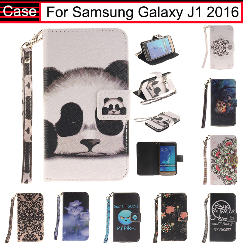 JURCHEN For Samsung Galaxy J1 2016 J120 J120F Case Cover Soft Card Wallet Leather Flip Case For Samsung Galaxy J1 2016 Case 40