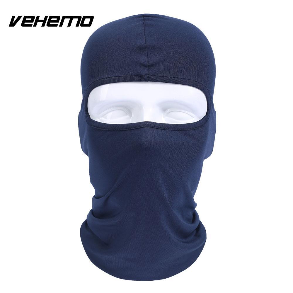 Vehemo аксессуары для улицы полная мотоциклетная маска для защиты лица шапки унисекс 14 цветов Практичная Балаклава лайкра защита удобный - Цвет: Sapphire