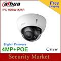 Original Dahua 4MP Camera IPC-HDBW4421R IR Full HD IP K10 Support POE  Dome Camera  DH-IPC-HDBW4421R