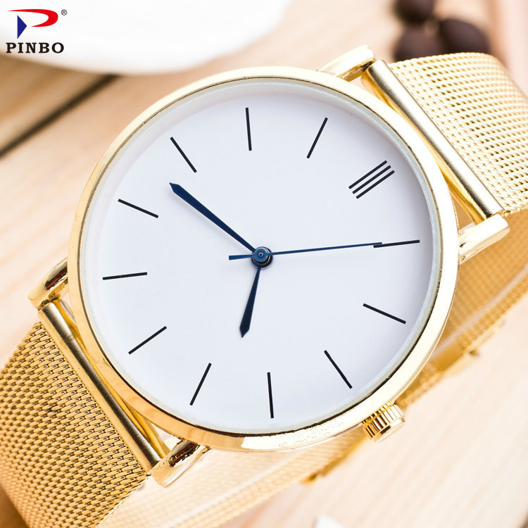 2017 fashion men and women`s stainless steel luxury quartz colock watch A-101 classic business men wristwatches relojes hombre