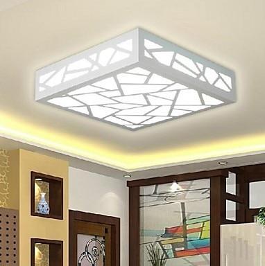 Творческа дърворезба Flush Mount Модерна - Вътрешно осветление