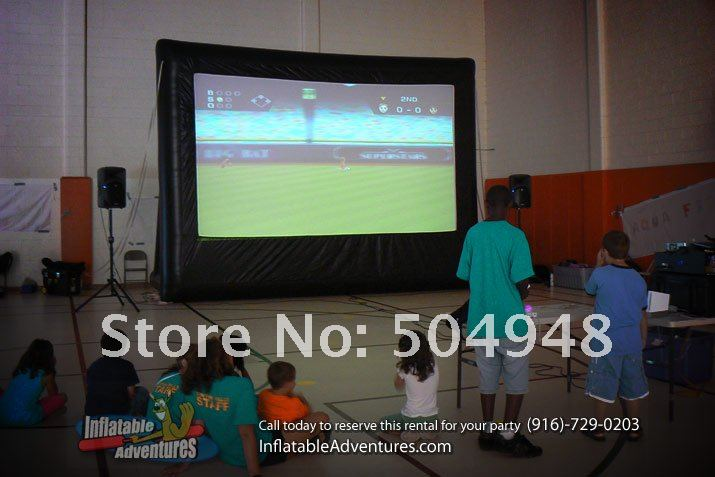 inflatable Movie screen model for advertising outdoor advertising inflatable movie screen