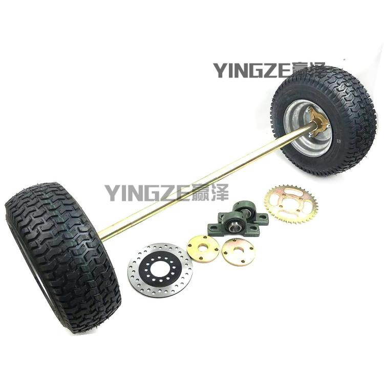 Back To Search Resultsautomobiles & Motorcycles Diy Four Wheel Go Kart Karting Atv Utv Buggy 81cm 23 Teeth Rear Axle