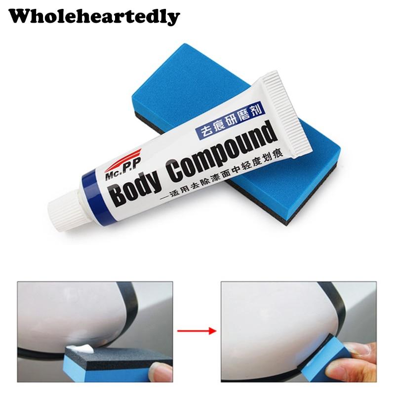 Hot Sale Car Scratch Remover Repair Kit Auto Polish Wax Grinding Paste Sponge Set Body Compound Paint Care Vehicle Accessories
