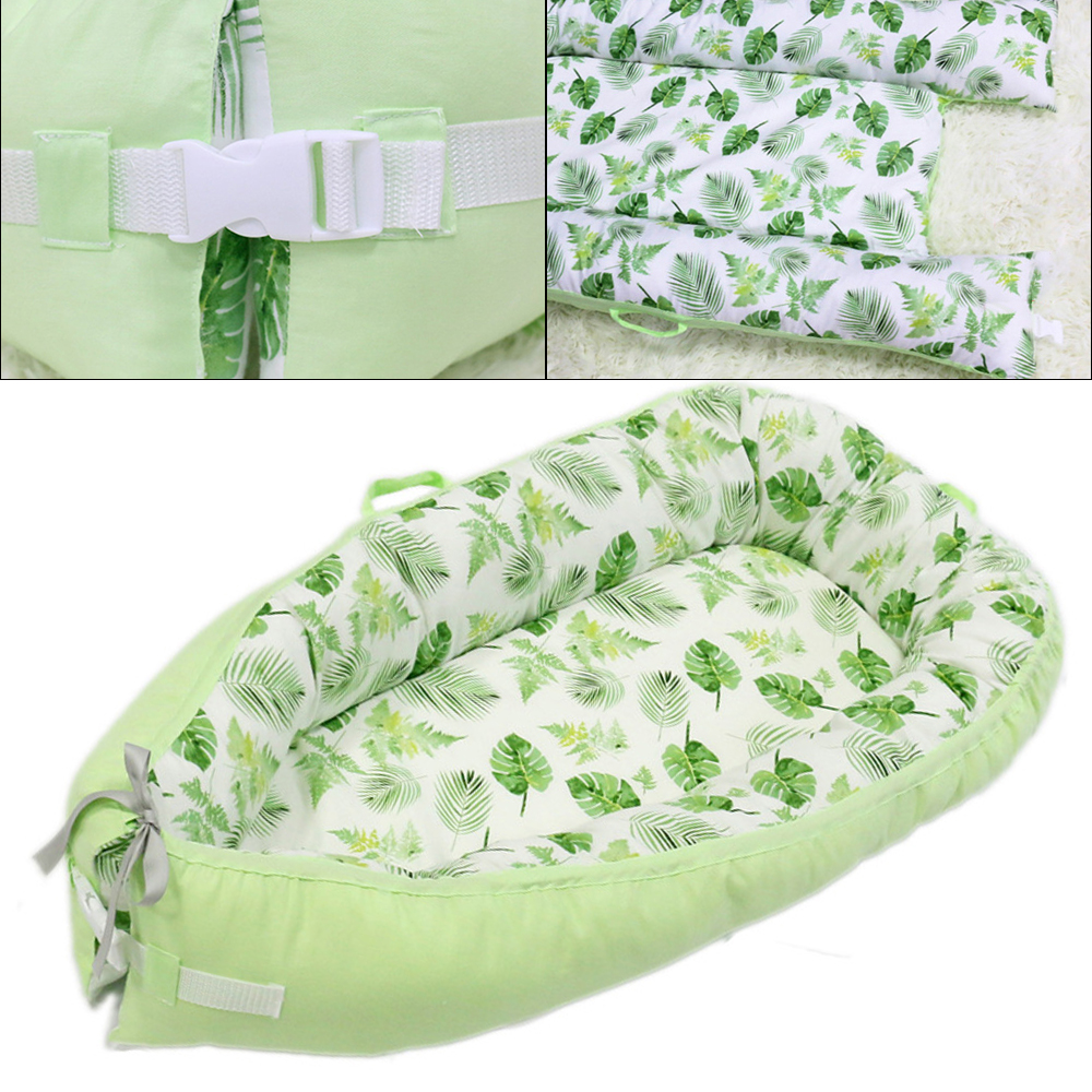 Portable Baby Nest Bed Newborn Milk Sickness Bionic Bed Crib Cot Baby Sleeping Artifact Bed Travel Bed With Bumper Baby Sleep