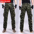 Denyblood Jeans 2016 Brand New Mens Camouflag Military Cargo Pants Multi-pockets Baggy Men Casual Pants Outwear Twill Pants 673