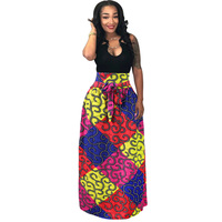 3d africa dress clothing fashion african clothes printed robe africaine hip hop skirt dress casual african dresses for women