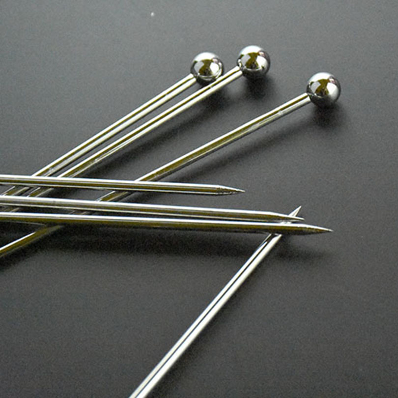Stainless steel martini picks appetizers