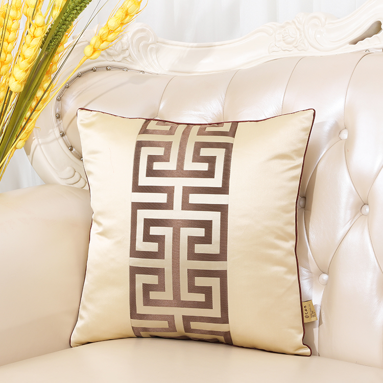 Последние европейские декоративные Чехлы для дивана, кресла, спинки, поясничная Подушка, роскошный Шелковый атласный чехол для подушки