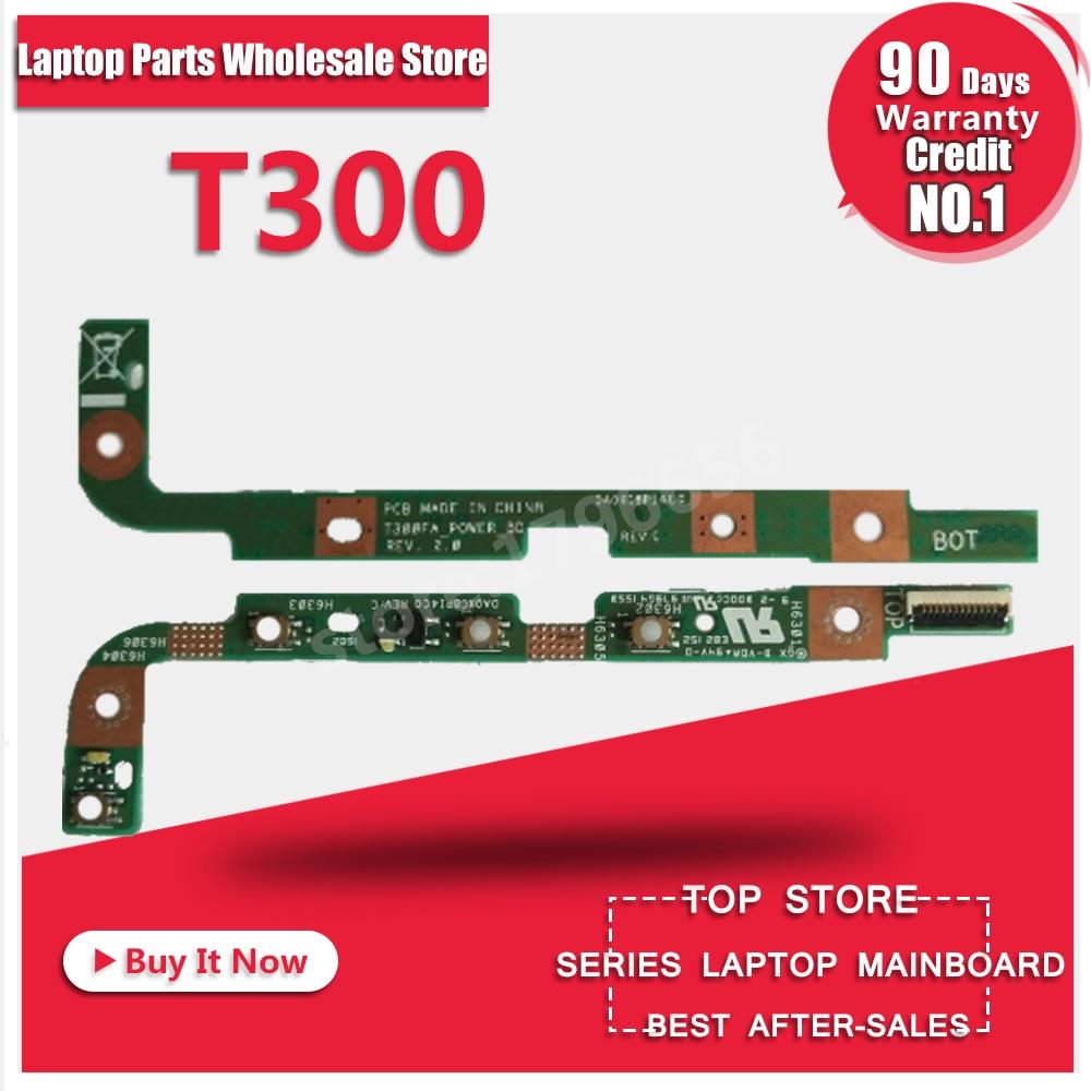 Free Shipping Original FOR Asus T300 T300F T300FA power botton switch board T300FA_POWER_BD DA0XCBPI4C0 test good