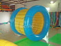 WB017 Free shipping ! Factory customize !  water walking rollering ball inflatable water roller ball water toy for sale