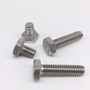 20pcs Hex Bolts 1/4-20 UNC Threads Screws Nuts Washers Stainless Steel Pack