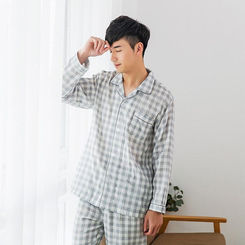 2019 New  Men Pyjama Set Pajamas For Men Mens Pyjama Men Night Suit 9347