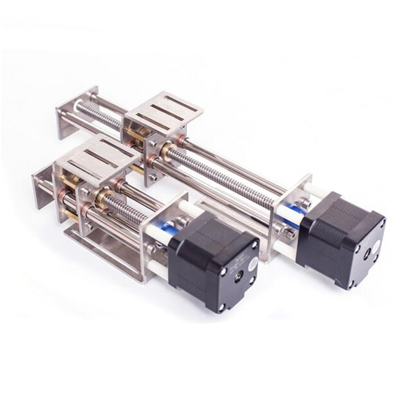 CNC Z-axis Sliding Working Table 60mm 150mm Stroke Linear Z Slide With  Stepper Motor Woodworking  Milling Engraving