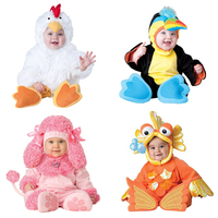2017 Carnival Halloween Outfits Baby Boys Girls Costume Animal Cosplay Rompers Jumpsuit Toddlers Infant Clothes Bat