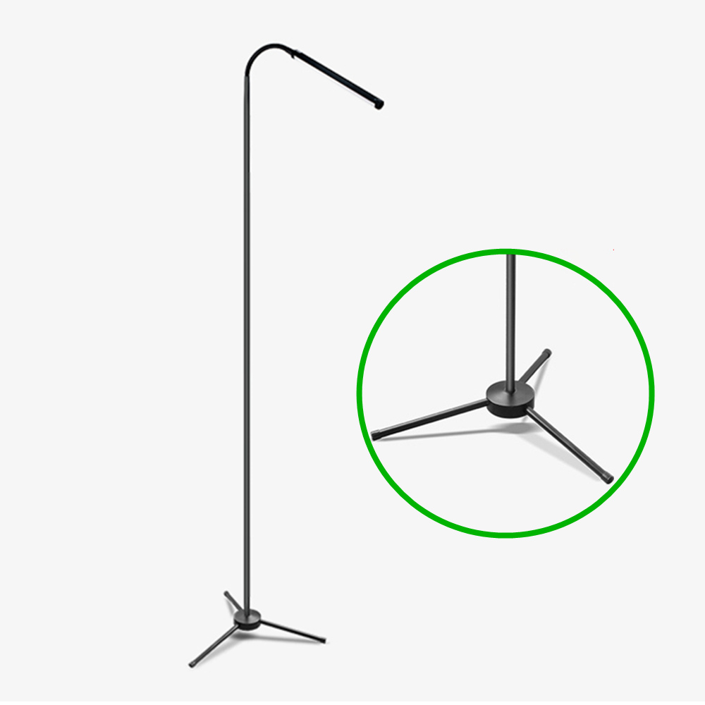 Modern LED Floor Lamp Adjustable Dimmable with Remote Control