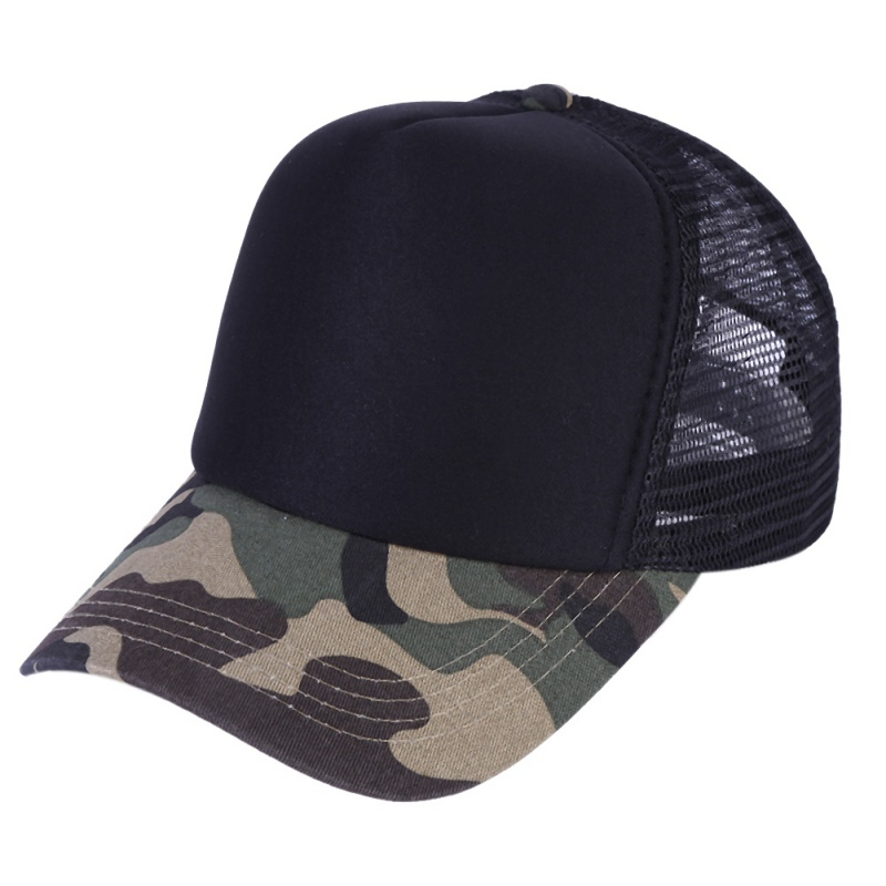 2018 Summer New Mix Color Camo Baseball Caps Women Men mesh Camouflage Snapback Tactical Hat For Men Quality Trucker Hat