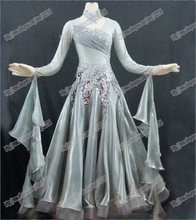 High Quality  Modern Waltz Tango Performing dress , Ballroom Competition Dance Dresses BD-003