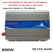 600W pure sine wave mppt inverter DC 10 5 30 or 20 50 to AC 110V
